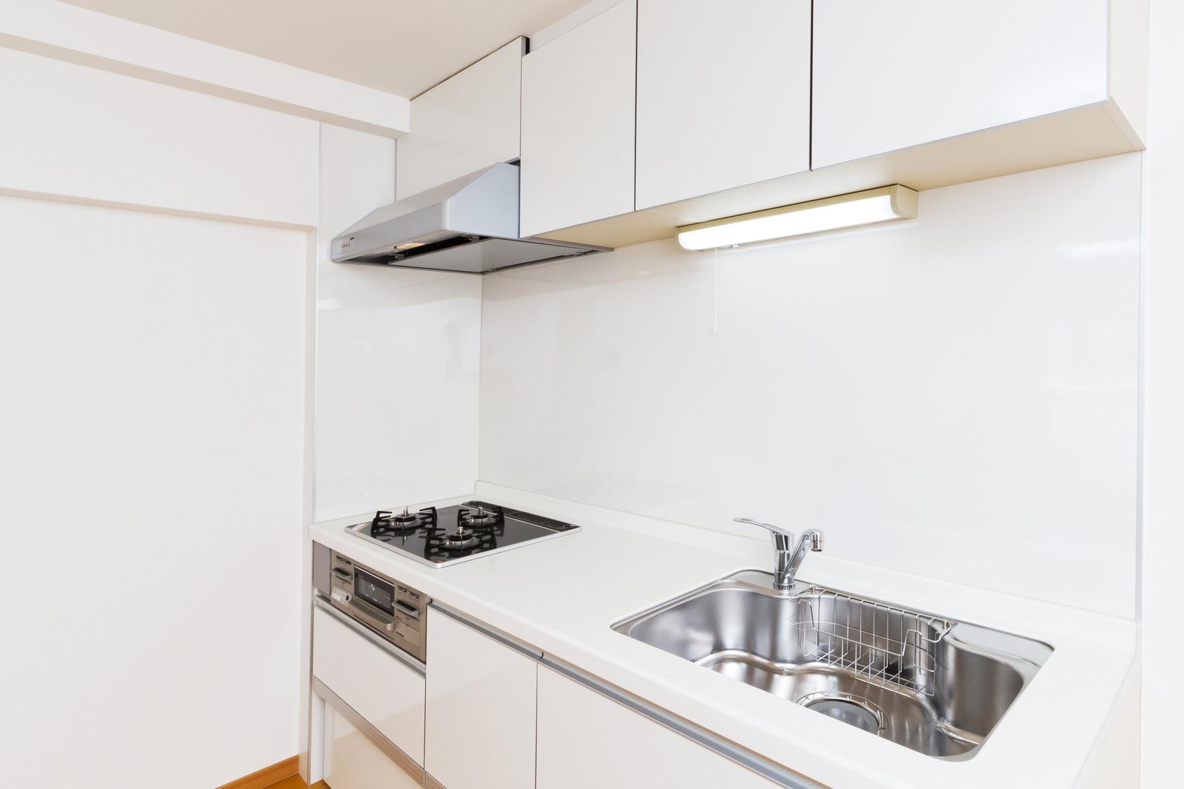 日本のアパート、マンションのキッチン apartment of Japan